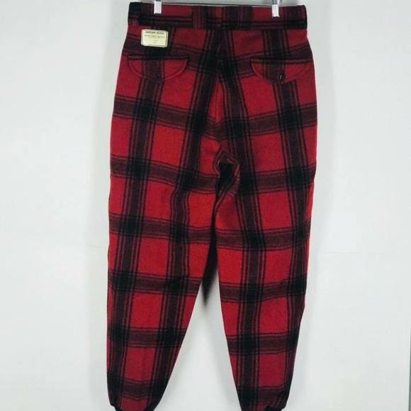 74369f585837d Johnson Woolen Mills Pants | Vintage Red Wool 32x32 | Poshmark